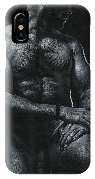 Oscuro 17 Phone Case by Chris Lopez