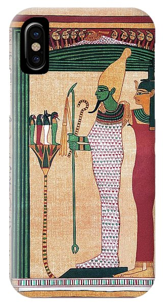 Osiris And Isis Phone Case by Sheila Terry/science Photo Library