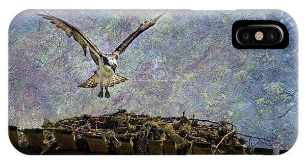 Osprey-coming Home IPhone Case