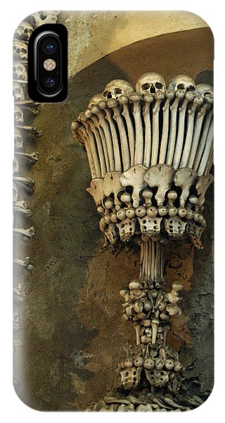 IPhone Case featuring the photograph Ossuary Chalice by Michael Kirk