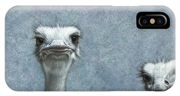 Ostriches IPhone Case