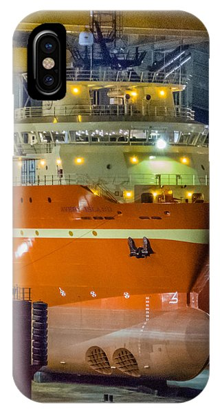 Osv In Port Fourchon Drydock IPhone Case