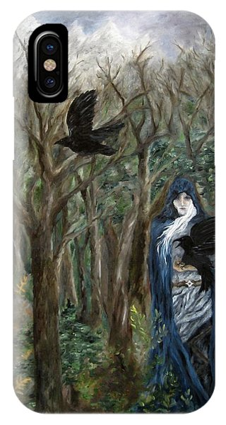 The Raven God IPhone Case