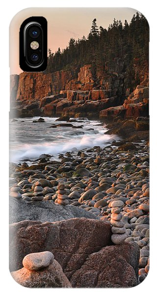 Otter Cliffs Morning IPhone Case