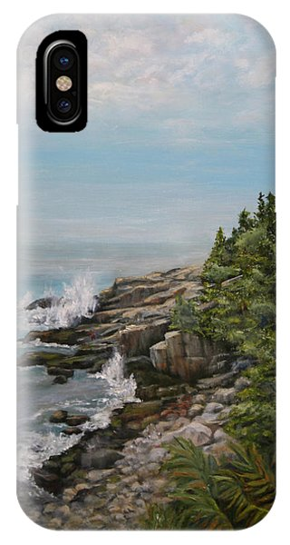 Otter Point - New England IPhone Case