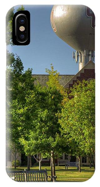 Oklahoma University iPhone Case - Ou Campus by Ricky Barnard