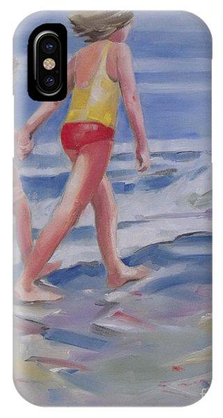 Our Beach Walk IPhone Case
