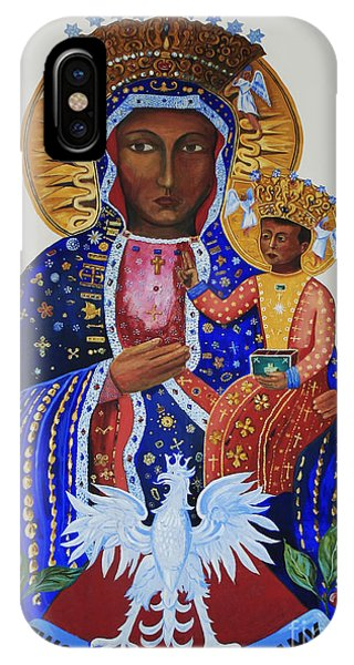 Our Lady Of Czestochowa IPhone Case