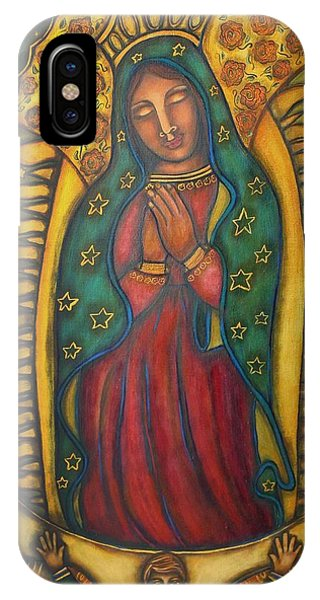Our Lady Of Glistening Grace Phone Case by Marie Howell Gallery