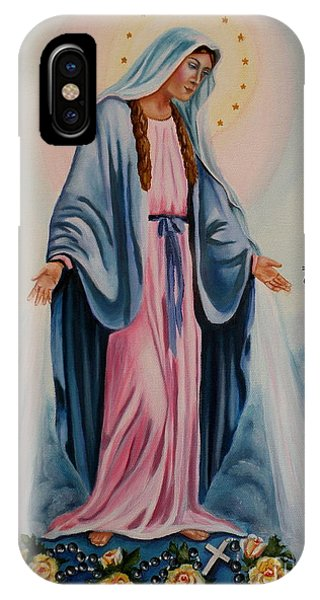 Our Lady Of Grace I IPhone Case