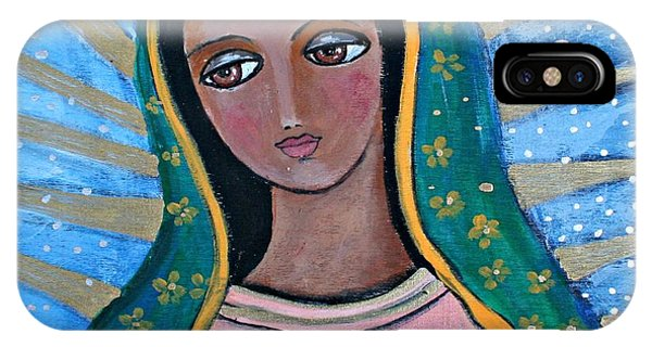 Our Lady Of Guadalupe Folk Art IPhone Case