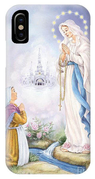 Our Lady Of Lourdes IPhone Case