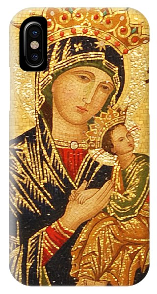 Michael iPhone Case - Our Lady Of Perpetual Help  by Philip Ralley