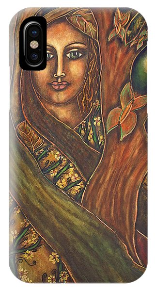 Our Lady Of The Shimmering Wildwood Phone Case by Marie Howell Gallery
