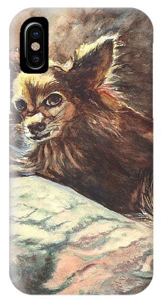 Chihuahua Angel IPhone Case