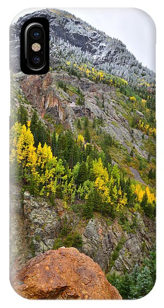 Ouray Canyon Fall Color IPhone Case