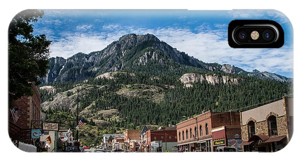 Ouray Main Street IPhone Case