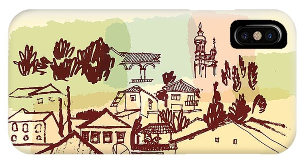 Christianity iPhone Case - Ouro Preto, Minas Gerais, Brazil by Babayuka