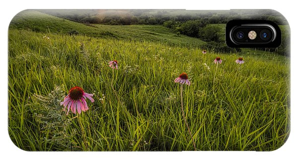 Out In The Flint Hills IPhone Case
