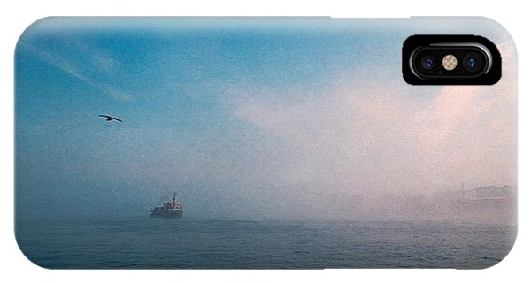 Out Morning At Sea  IPhone Case