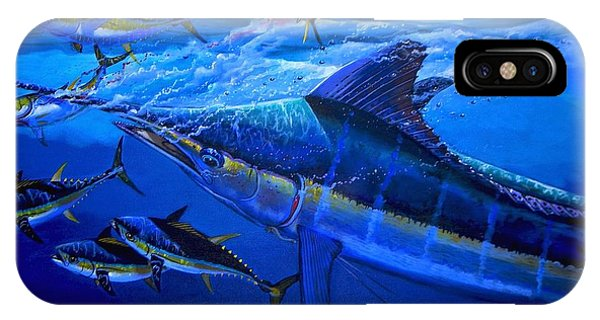 Reel iPhone Case - Out Of The Blue by Carey Chen