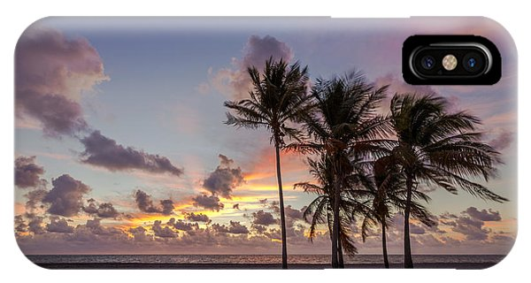 Florida iPhone Case - Out Of The Sky Came The Lights by Evelina Kremsdorf