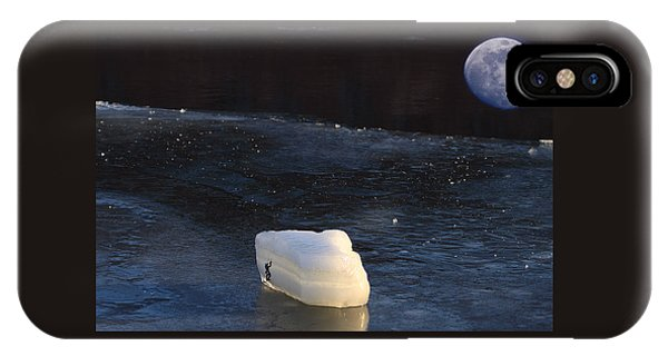 Out Of This World Ice Climbing IPhone Case