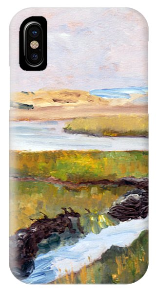 Out To The Bay IPhone Case