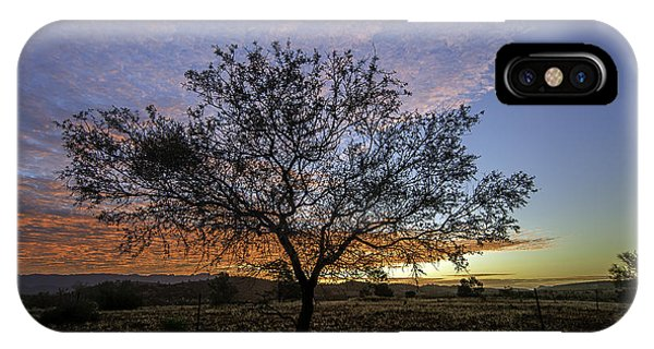 IPhone Case featuring the photograph Outback Sunset  by Ray Warren