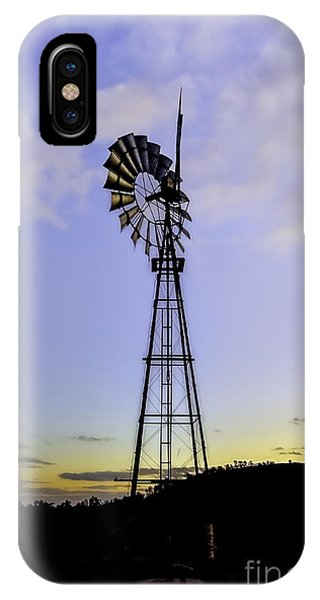 Outback Windmill IPhone Case