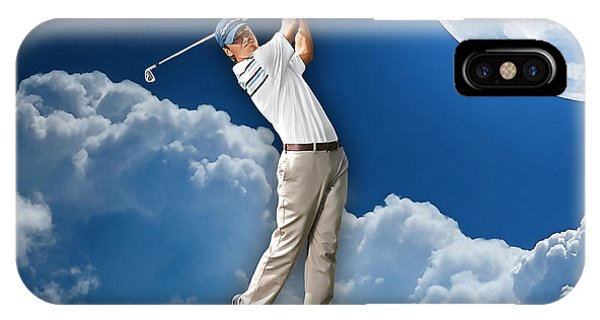Golf iPhone Case - Outdoor Golf by Marvin Blaine