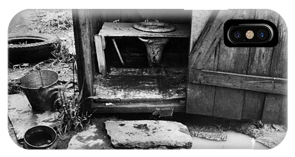Outdoor Toilet, 1935 Phone Case by Granger