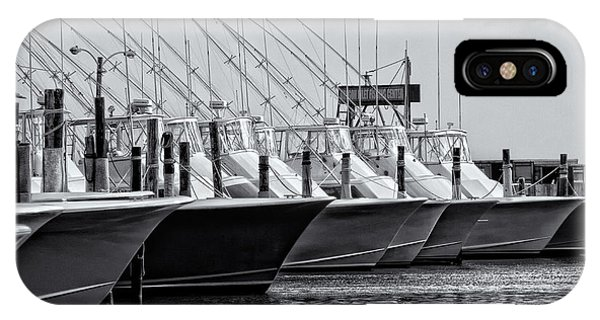 Outer Banks Fishing Boats IPhone Case