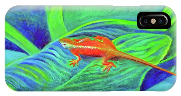 Outer Banks Gecko IPhone Case