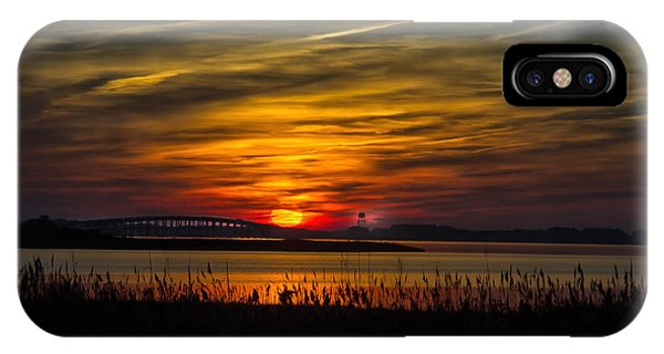 Outer Banks Sunset IPhone Case