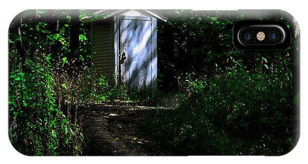 Outhouse In Early Morning IPhone Case