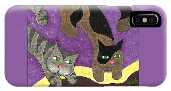 Over Cover Cats IPhone Case