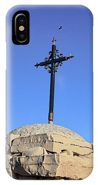 Over The Cross IPhone Case