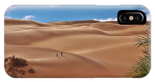 Over The Dunes IPhone Case