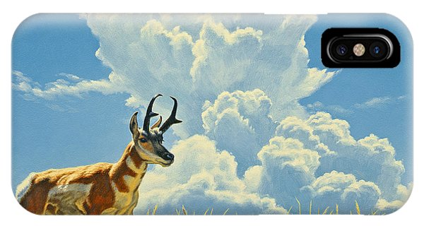 Yellowstone iPhone Case - Over The Rise by Paul Krapf