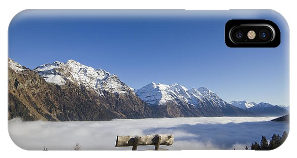Over The Sea Fog IPhone Case
