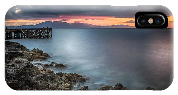 Beautiful Scotland iPhone Case - Over The Sea by John Farnan