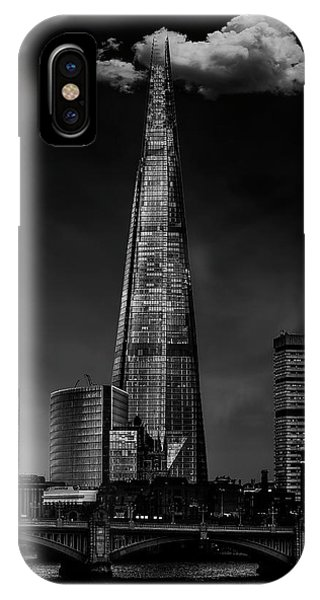 Building iPhone Case - Over The Shard by Jackson Carvalho