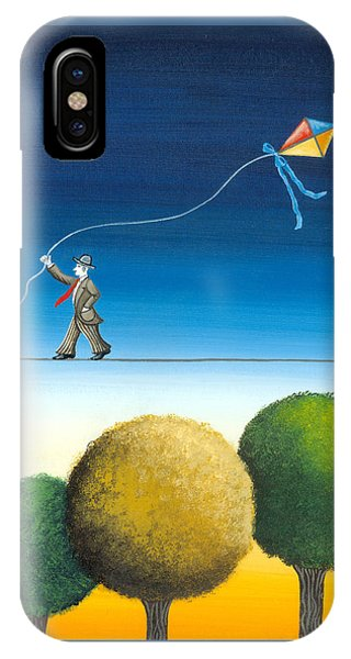 Over The Trees IPhone Case