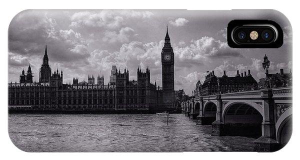Over Westminster Bridge IPhone Case