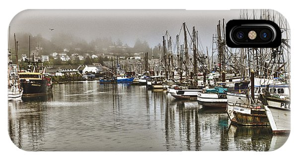 Overcast Harbour IPhone Case