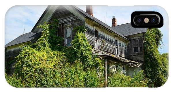 Overgrown House IPhone Case