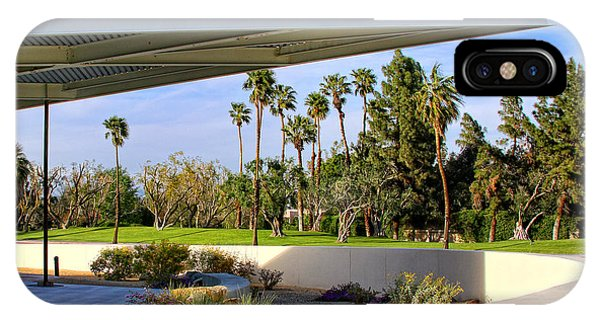 Overhang Palm Springs Tram Station IPhone Case