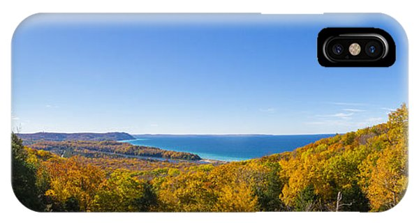 Overlook From Pierce Stocking Drive IPhone Case