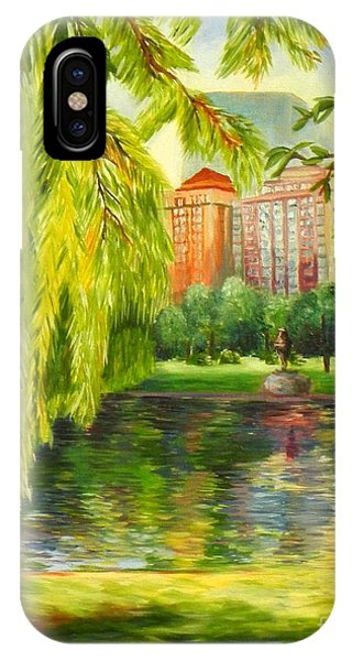 Overlooking Boston IPhone Case